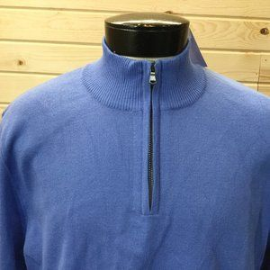 New Lands End Pullover Sweater 1/2 Zip NWT
